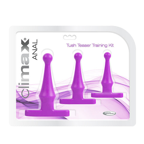 Climax® Anal Tush Teaser Training Kit, Deep Purple