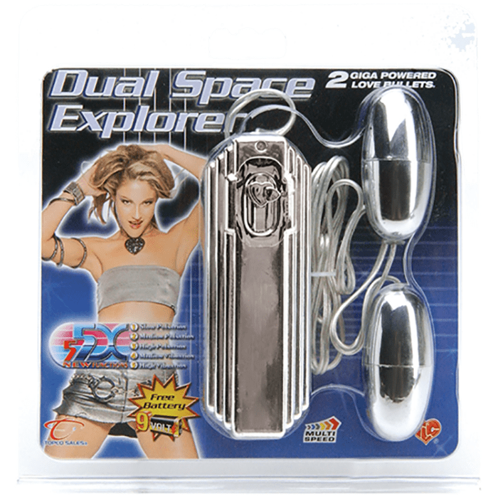 5X Dual Space Explorer Bullet Vibe - Topco Wholesale