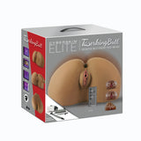 CyberSkin® Elite TwerkingButt™ Interactive Multi-Sensory Pussy & Ass, Dark - Topco Wholesale