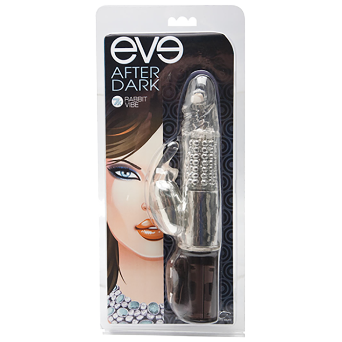 Eve After Dark 7X Rabbit Vibe, Shimmer - Topco Wholesale