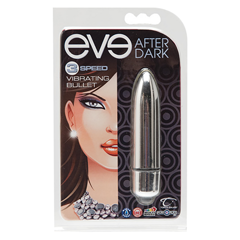 Eve After Dark Vibrating Bullet, Shimmer - Topco Wholesale
