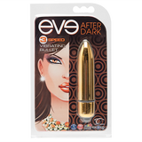 Eve After Dark Vibrating Bullet, Honey - Topco Wholesale