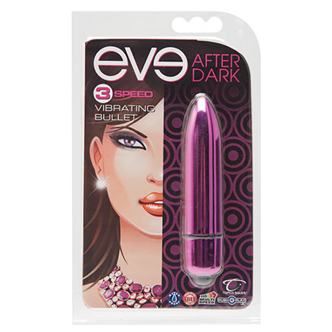 Eve After Dark Vibrating Bullet, Blush - Topco Wholesale