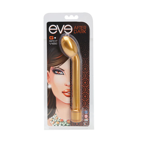 Eve After Dark G-Spot Vibe, Honey - Topco Wholesale