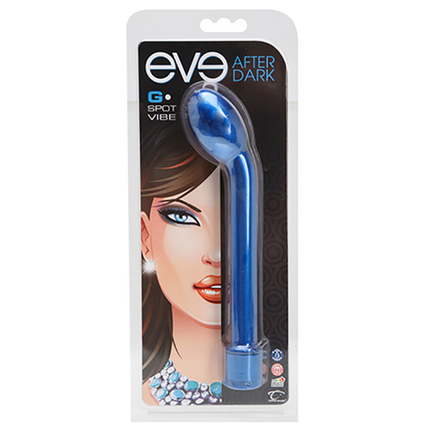 Eve After Dark G-Spot Vibe, Cobalt - Topco Wholesale