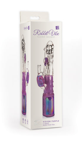 Rabbit Vibe Clear Insight Vision Purple - Topco Wholesale