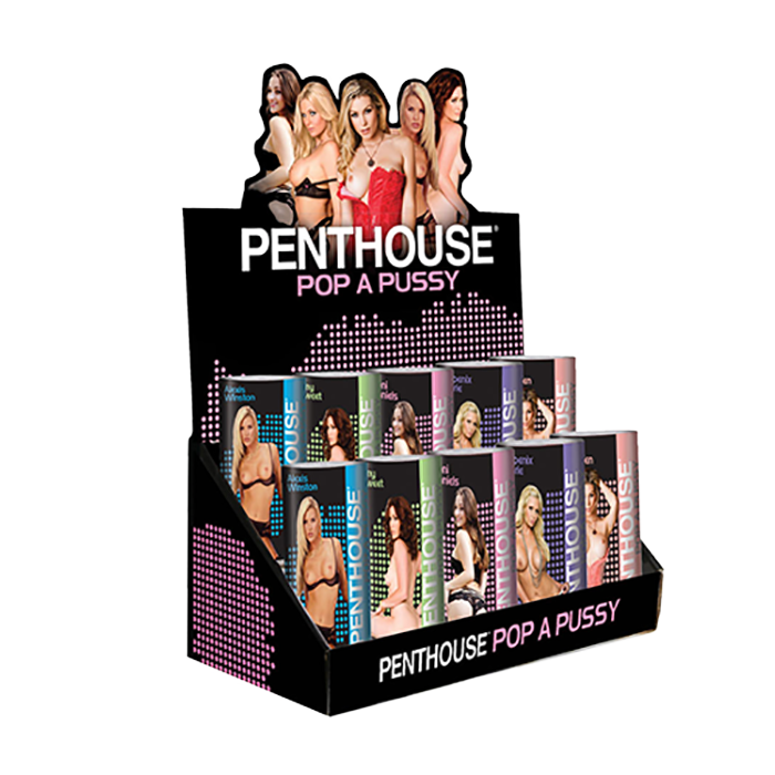 Penthouse® POP A Pussy P.O.P. Display - Topco Wholesale  - 1