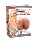 Penthouse® Pet Collection McKenzee Miles Vibrating CyberSkin® Pet Pussy & Ass - Topco Wholesale  - 1