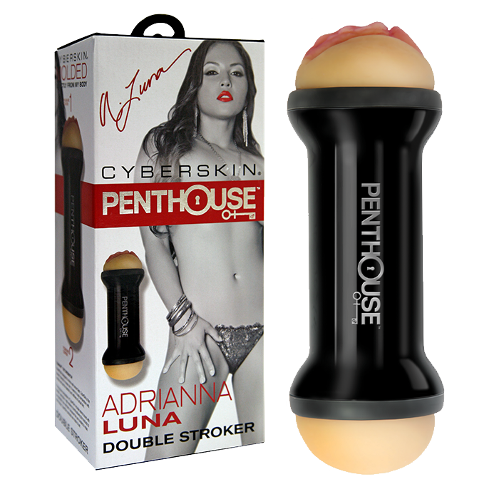 Penthouse® Double Sided Stroker, Adrianna Luna - Topco Wholesale  - 1