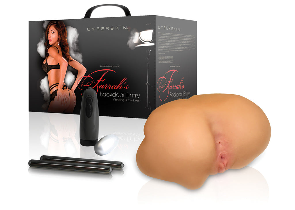 Wildfire Celebrity Series Farrah's Backdoor Entry 6X, 6S Vibrating Pussy & Ass - Topco Wholesale  - 1