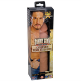 Wildfire Celebrity Series Tommy Gunn Power Suction CyberSkin Penis Extension - Topco Wholesale  - 1