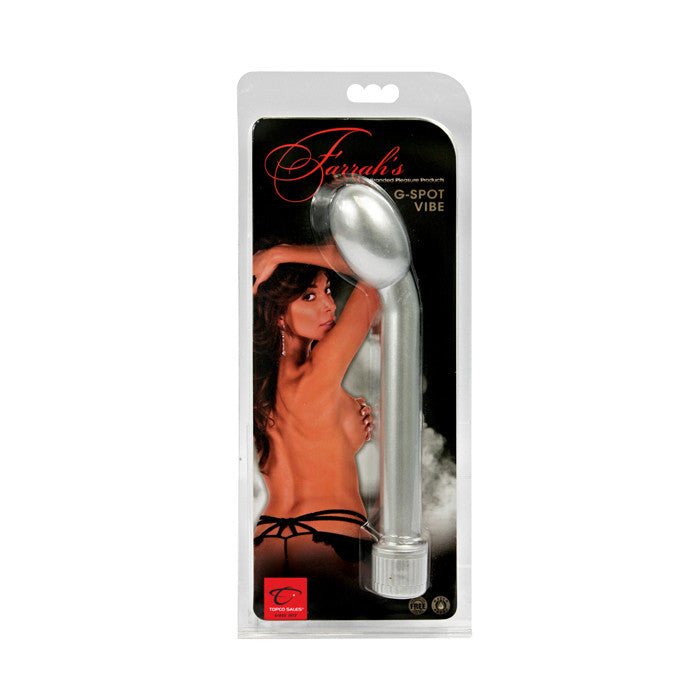 Celebrity Series Farrah G-Spot Vibe - Topco Wholesale