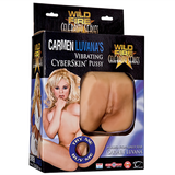 Wildfire Celebrity Series Carmen Luvana's Vibrating CyberSkin Pussy - Topco Wholesale  - 1