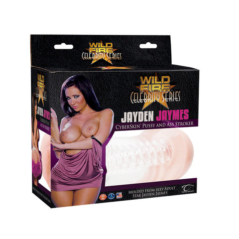 Wildfire Celebrity Series Jayden Jaymes CyberSkin Pussy & Ass Stroker - Topco Wholesale  - 1