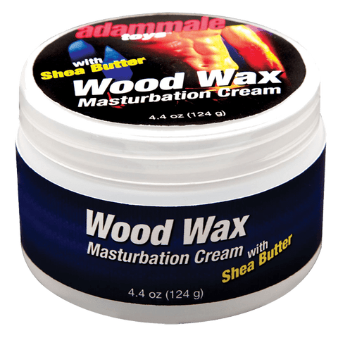 AdamMale Toys™ Wood Wax Masturbation Cream, 4.4 oz. (124 g) Jar - Topco Wholesale