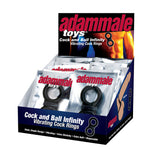 Adam Male Toys Cock & Ball Infinity P.O.P. - Topco Wholesale  - 1