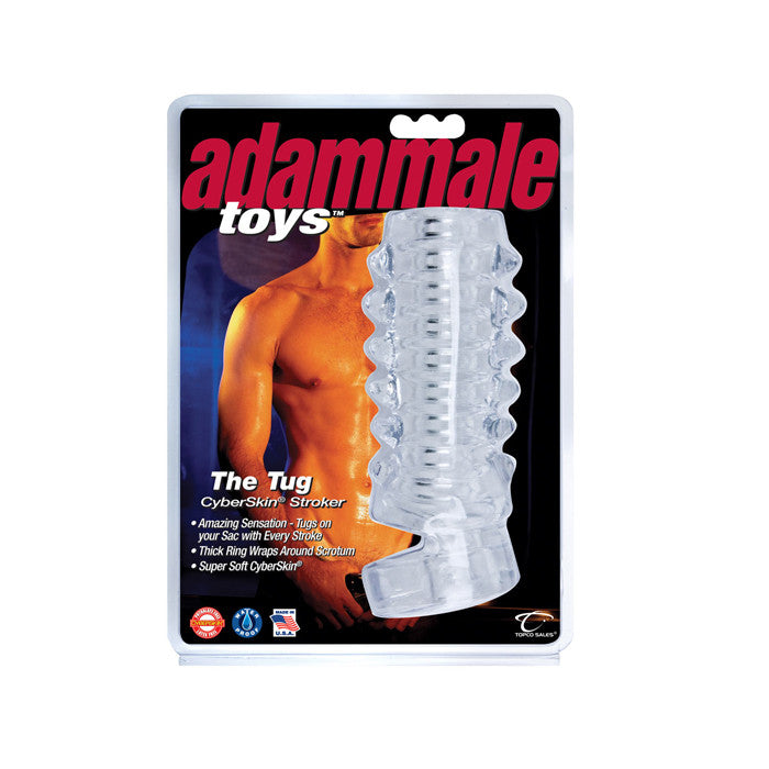 Adam Male Toys The Tug CyberSkin Stroker - Topco Wholesale  - 1