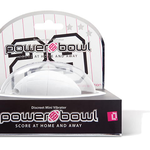 CLOSEOUT - FUNZONE Power Bowl, Power White - Topco Wholesale