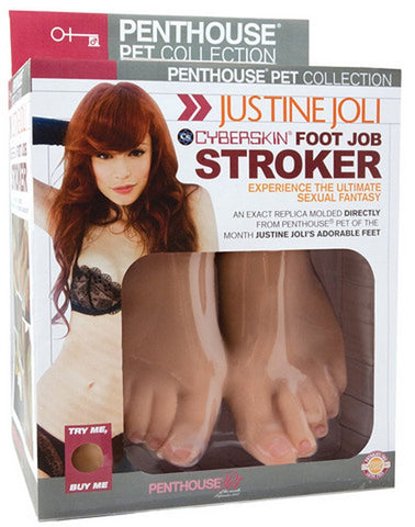 Penthouse® Pet Collection Justine Joli CyberSkin® Foot Job Stroker