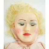 CLOSEOUT - DOLL; MASK W/CLOSED MOUTH, BLONDE HAIR, ACCESSORIES INCLUDED - Topco Wholesale