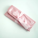 CLOSEOUT - BAG PINK WITH RIBBON TIE INCLUDES 4 INNER POCKETS - Topco Wholesale