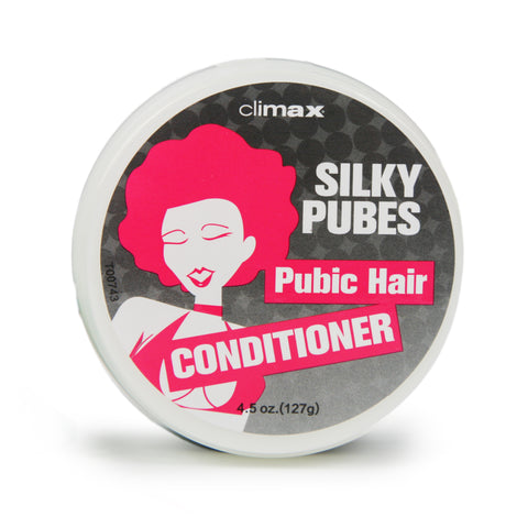 Climax® Silky Pubes Pubic Hair Conditioner, 4.5 oz. (127 g) Jar - Topco Wholesale