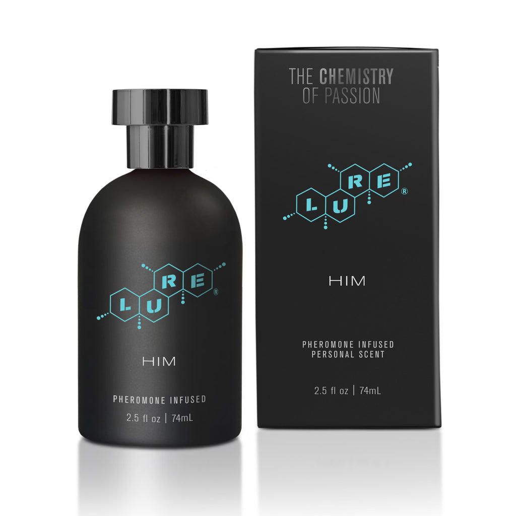 Lure® Black Label For Him, Pheromone Infused Personal Scent 2.5 fl oz (74 ml) Bottle - Topco Wholesale