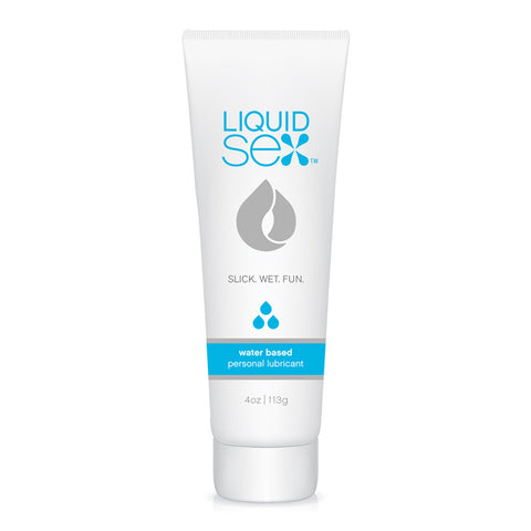 Liquid Sex- Classic Water-Based, 4 fl. oz. (118 mL) Tube - Topco Wholesale