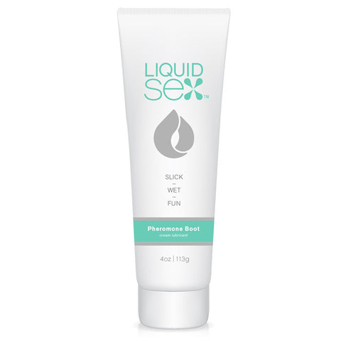 Liquid Sex  Pheromone Boost Cream Lube, 4 oz. (113 g) Tube - Topco Wholesale