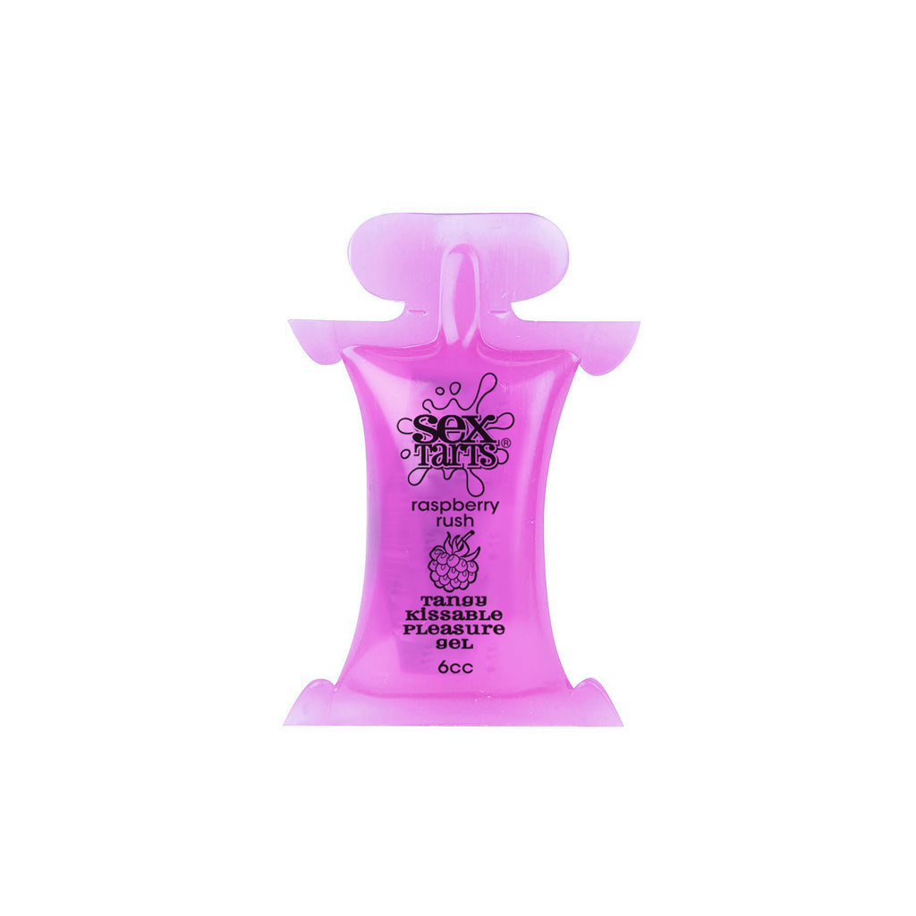 Sex Tarts Lube, Raspberry Rush, 6 cc (6 mL) Pillow Pack