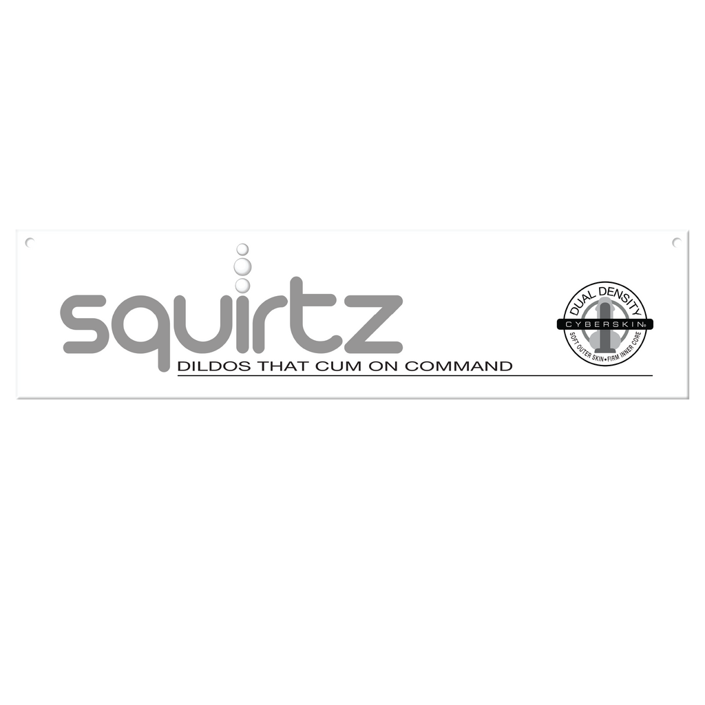 "Squirtz Horizontal Header Sign, 23.5"" x 5.5"""