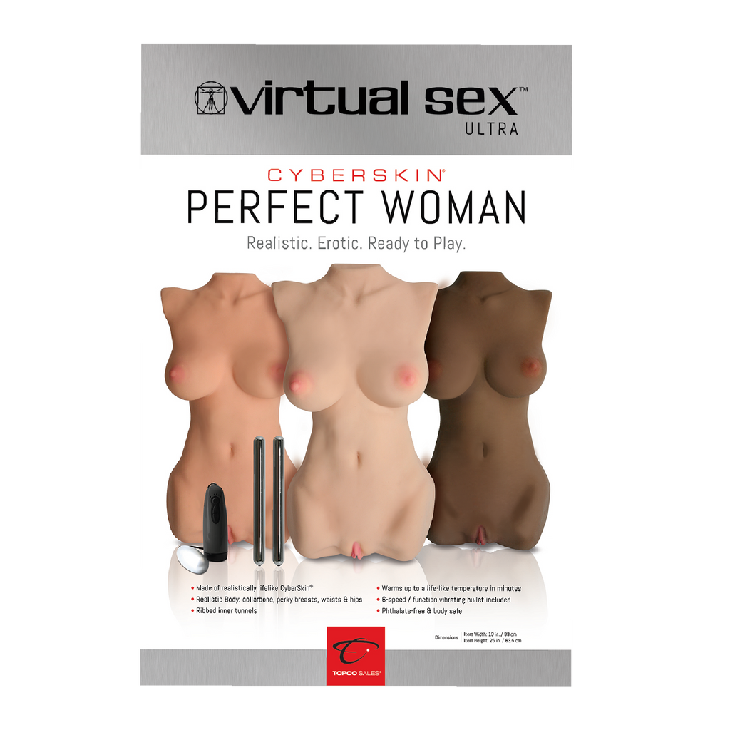 "Poster Virtual Sex Ultra - Perfect Woman, 24"" x 36"" - Topco Wholesale"