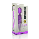 Climax® Elite, EOS, Rechargeable 9x Silicone Wand, Purple - Topco Wholesale
