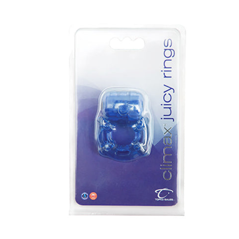 Climax® Juicy Rings, Blue - Topco Wholesale  - 1