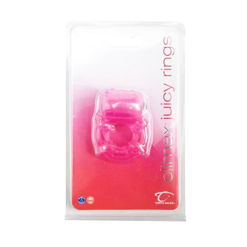 Climax® Juicy Rings, Pink - Topco Wholesale  - 1