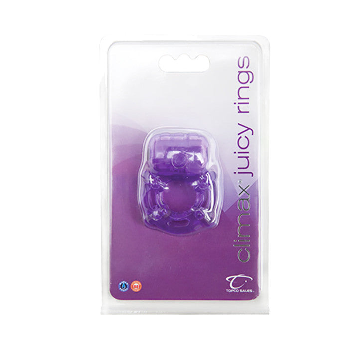 Climax® Juicy Rings, Purple - Topco Wholesale  - 1