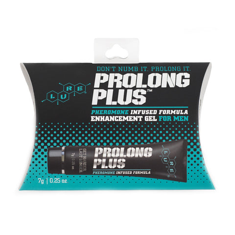 Prolong Plus™ Male Enhancement Gel 7g (0.25 oz) - Topco Wholesale