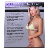 Young & Hot Inflatable Love Doll with CyberSkin Pussy & Ass - Topco Wholesale