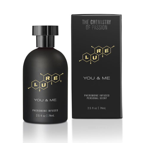 Lure® Black Label You & Me, Pheromone Personal Scent, 2.5 fl. oz. (74 ml) Bottle