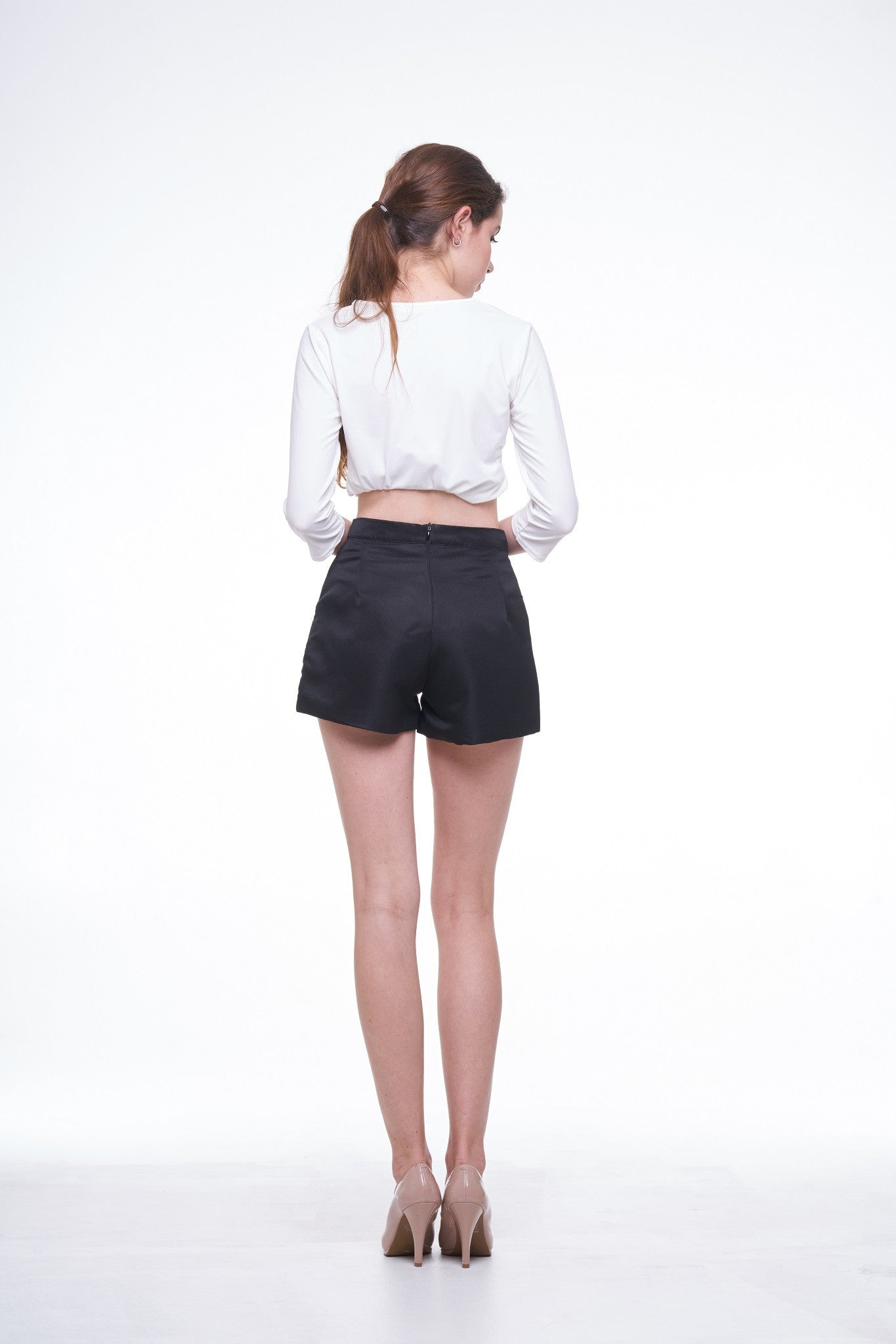 Shorts with Bow Ribbon