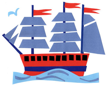 Clipper Ship craft kit