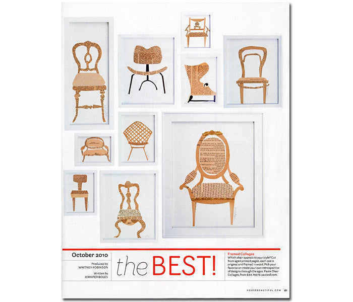 paste framed images feature story cover page in house beautiful magazine the best