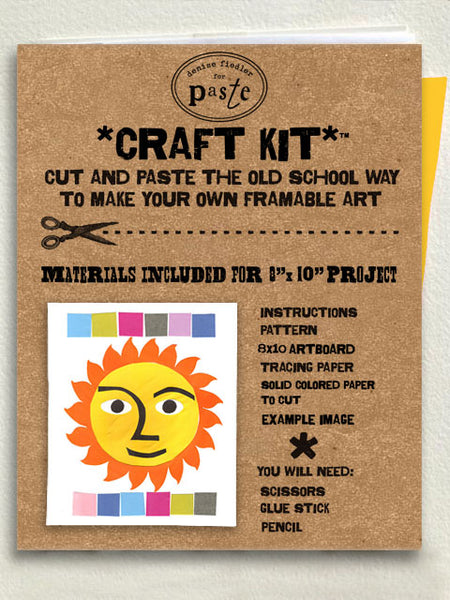 Children's Collage Kits - 8x10