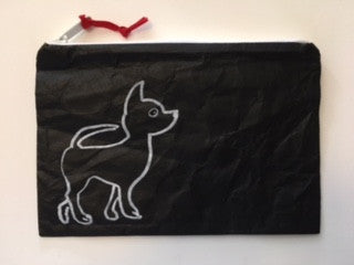 Chihuahua Zippered Pouch