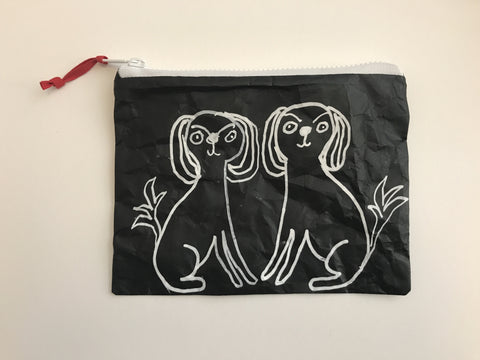 Cavalier Spaniels Zippered Pouch