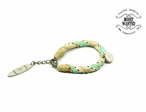 Las Penitas Green Single Bracelet