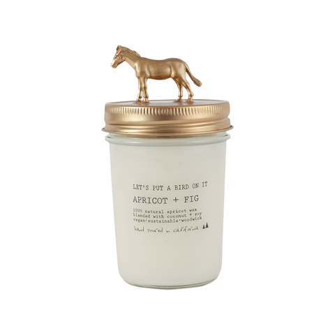 Gold Donkey • 8 oz Vegan Candle