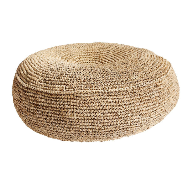 Ricestraw Floor Cushion Natural
