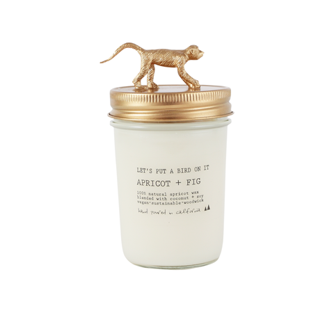Gold Monkey • 8 oz Vegan Candle