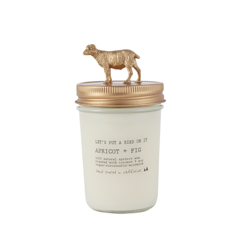 Gold Ram • 8 oz Vegan Candle